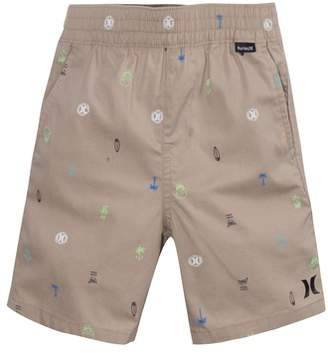 Hurley Print Pull-On Shorts