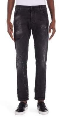 Marcelo Burlon County of Milan Vintage Wash Jeans