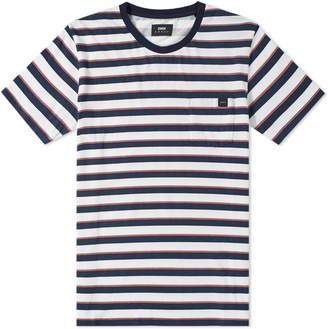 Edwin Stripe Pocket Tee