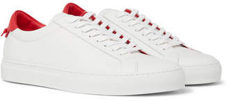 Givenchy Urban Street Leather Sneakers - Men - White