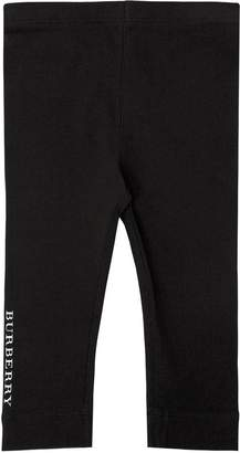 Burberry Logo Band Cotton Jersey Leggings