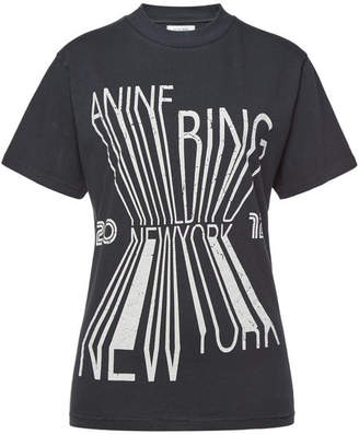 Anine Bing Cotton New York T-Shirt