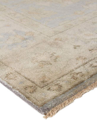 Exquisite Rugs Annetta Antique Oushak Rug, 6' x 9'