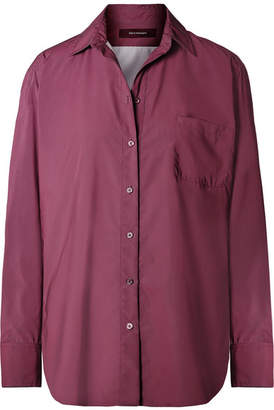 ff635da0 Sies Marjan Sander Reflective Washed-taffeta Shirt - Plum