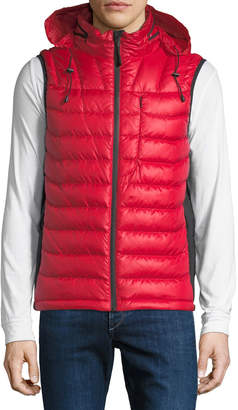 Body Glove Men's Soft-Touch Puffer Down Vest