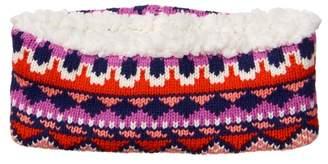Crazy 8 Fair Isle Sherpa Headband