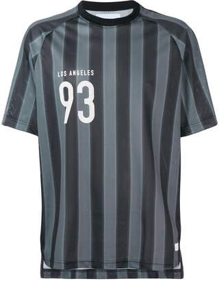Stampd striped sports T-shirt