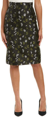 Escada Silk-Blend Pencil Skirt