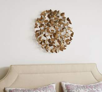 Pottery Barn Butterfly Wall Art