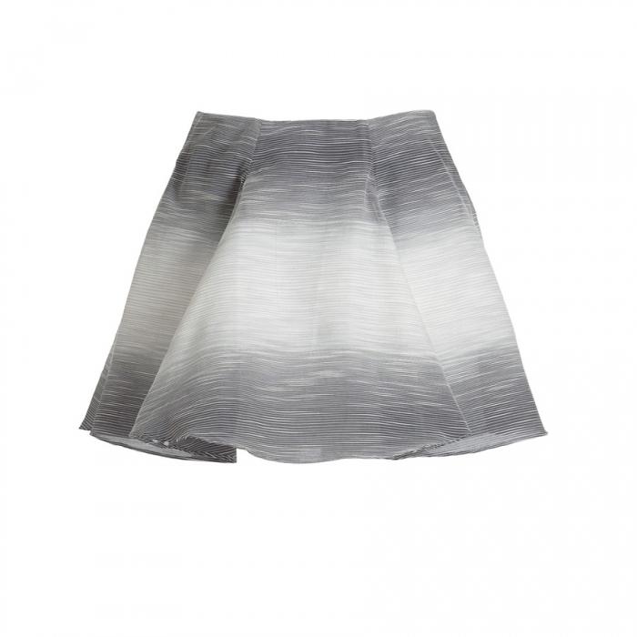 Adam Lippes Black/White Circle Skirt