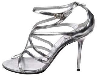 Roger Vivier Metallic leather Sandals