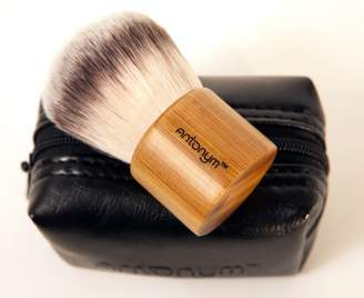 Antonym Cosmetics Professional Kabuki Make-Up Brush Bamboo with Pouch