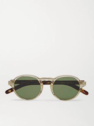 MOSCOT Glick Round-Frame Tortoiseshell Acetate Sunglasses