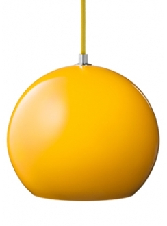 Pin It &Tradition VP6 Topan Pendant Lamp In Yellow