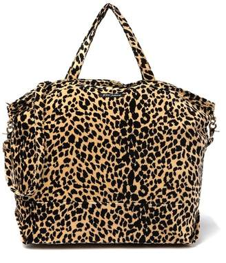 Betsey Johnson Prowlin' Around Leopard Print Tote Bag