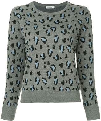 GUILD PRIME leopard print sweater