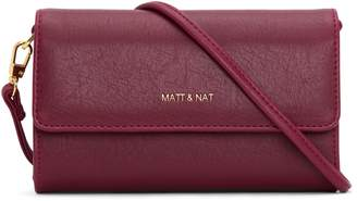Matt & Nat DREW Mini Crossbody Bag - Garnet
