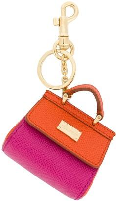 Dolce & Gabbana St Dauphine bag keyring