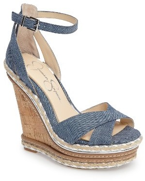 Women's Jessica Simpson Ahnika Platform Wedge Sandal $118.95 thestylecure.com
