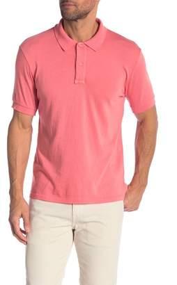 Save Khaki Short Sleeve Polo