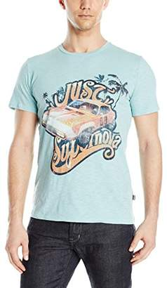 Just Cavalli Men's Beach Palm Car Graphic T-Shirt