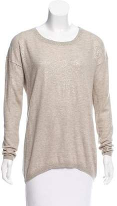 Pauw Scoop Neck Long Sleeve Sweater