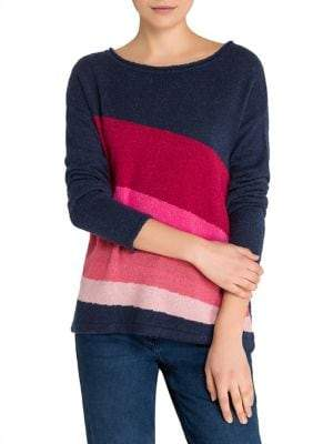 Olsen Wave Multi-Colour Sweater