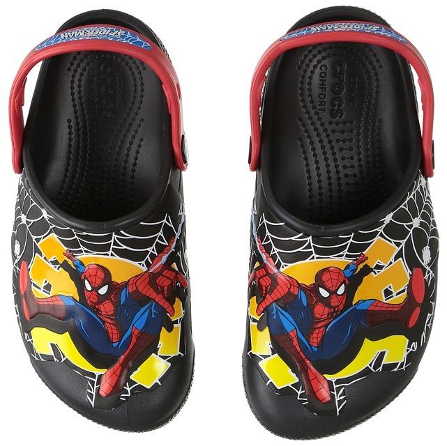 Crocs Kids - CrocsFunLab Lights Spiderman Boy's Shoes