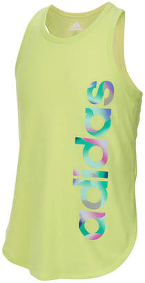 adidas Graphic-Print Tank Top, Big Girls