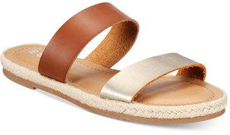 Esprit Veronica Espadrille Slide Sandals $39 thestylecure.com
