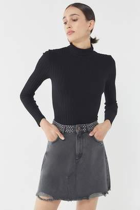 DL1961 Georgia Denim Mini Skirt - Wilder