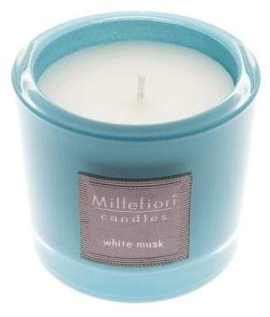 Millefiori White Musk Jar Candle