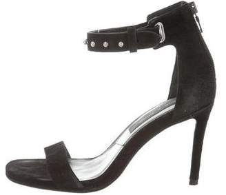 Rag & Bone Suede Ankle Strap Sandals