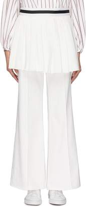 Maggie Marilyn 'She's In Charge' pleated skirt panel wide leg pants