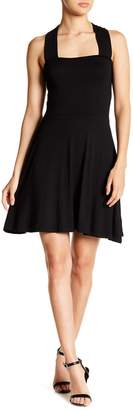 Angie Crisscross Back Skater Dress
