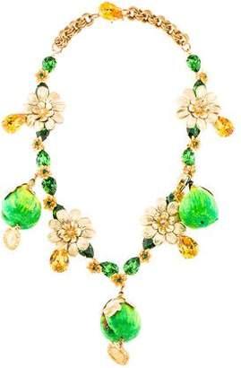 Dolce & Gabbana Fig Charm Necklace
