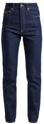 Emilia Wickstead No. Twenty Eight High Rise Jeans - Womens - Dark Blue