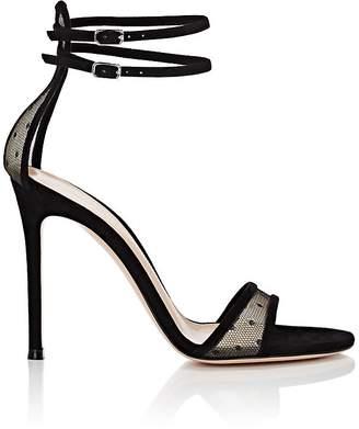 Women's Laurel Mesh & Suede Sandals