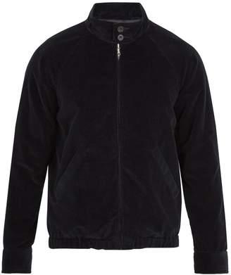 A.P.C. Midtown high-neck cotton-corduroy bomber jacket