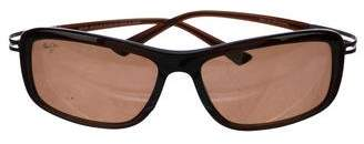 Maui Jim Rectangle Frame Sunglasses