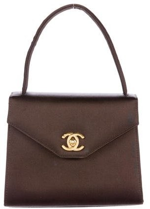 Chanel Satin Evening Bag