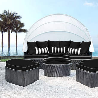 SolisPatio Sombra Daybed with Cushions