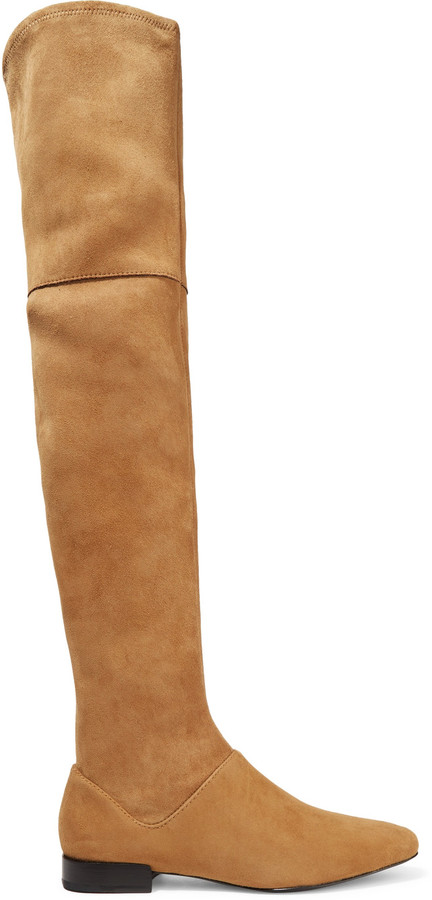 3.1 Phillip Lim3.1 Phillip Lim Louie stretch-suede over-the-knee boots