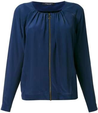 Roberto Collina blouse zipped jacket