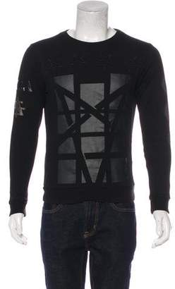 Surface to Air Graphic Applique Sweatshirt