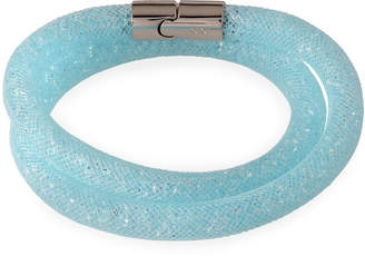 Swarovski Stardust Convertible Crystal Mesh Bracelet/Choker, Light Blue, Medium $60 thestylecure.com