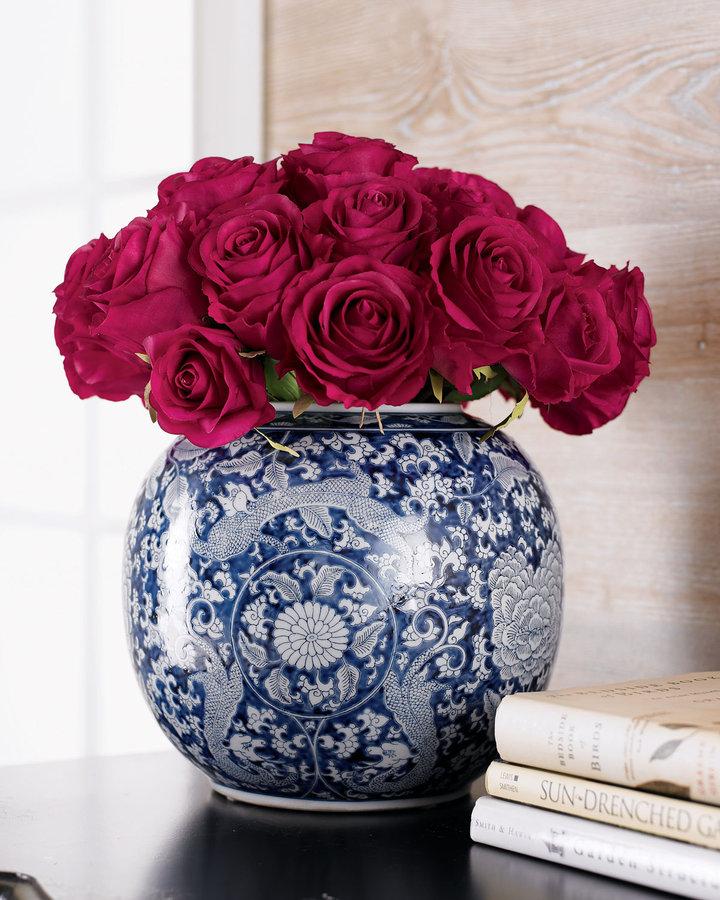Horchow Faux Roses