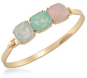CaroleeCarolee Cosmo Goldtone Cuff Bracelet