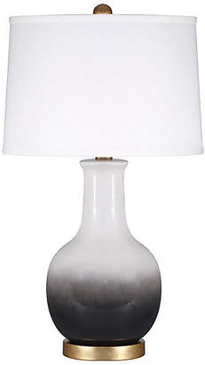 One Kings Lane Madison Table Lamp - Black Ombré