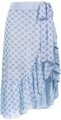 Cecilia Prado Chanel ruffled skirt